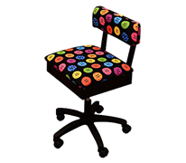 Horn Limited Edition Gaslift Sewing Chair Colourful Buttons